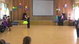 Спортивные   бальные танцы.Открытый урок.