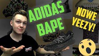 LIMITOWANY SHARK Hoodie Bape x Adidas i nowe Yeezy Boost 350! Kiedy Drop? Moja opinia! + OFF-WHITE