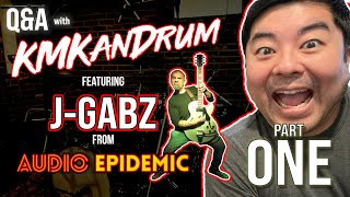 IT'S ALL ABOUT THE MUSIC!!! KMKanDrum & J-Gabz Interview Part 1
