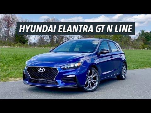 2020 hyundai elantra gt n line review can it beat the vw golf gti youtube 2020 hyundai elantra gt n line review