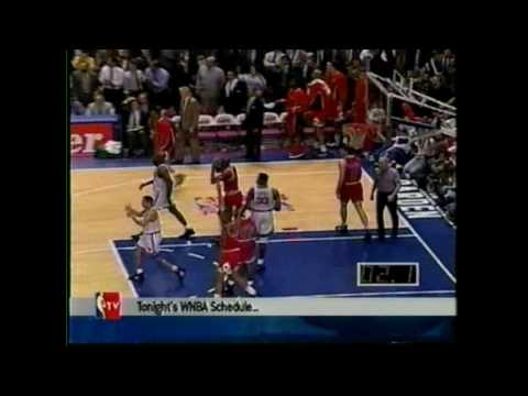 NBA 1994 Playoffs game 5: Knicks and Bulls: The ending