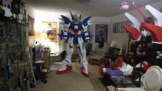 Gundam Wing Zero Custom Cosplay WIP - Gundam Cosplay