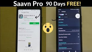 Jio Saavn Android Overview| FREE SAAVN PRO FOR 90 DAYS FOR JIO USERS![How To] #JioSaavn #Jio #Saavn thumbnail