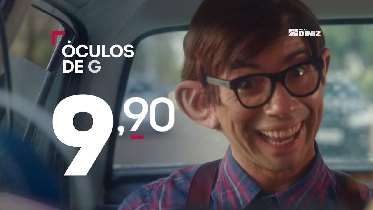 f1a5251c1176f Campanha Pirataria Óticas Diniz com Marco Luque - YouTube