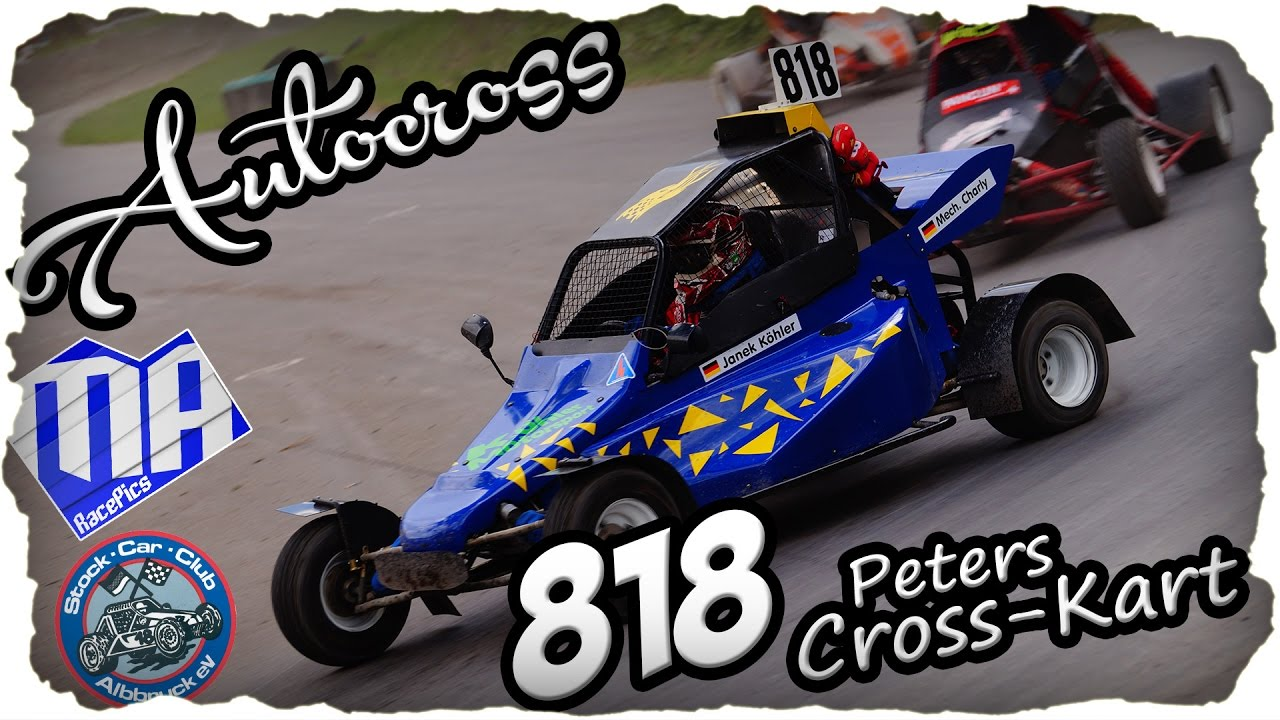 peters kart Autocross Peters Cross Kart ~Janek Köhler #818 ~MA RacePics   YouTube peters kart