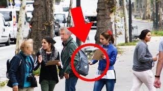 Taschendieb in Paris