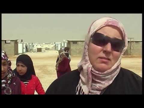 Zaatari Camp 2014 Aid Campaign - Sydney Ruqyah & Hijamah - Sheikh Hussein Abu-Gharib & Um Adam