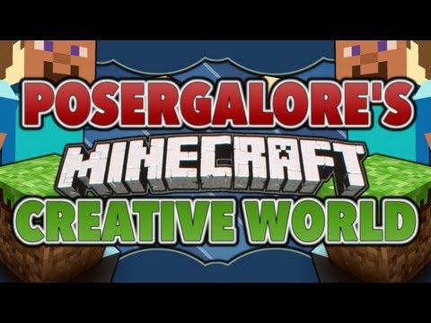 Minecraft Xbox 360 Edition Creative Mode World Tour