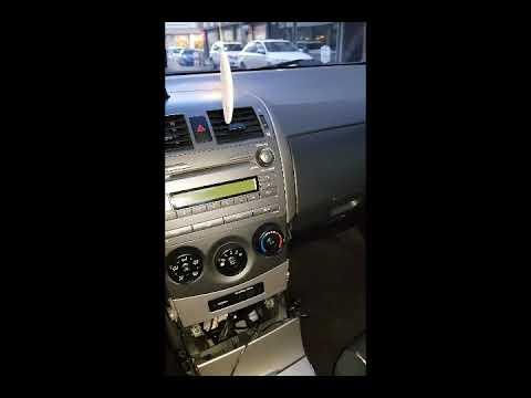 ARAÇ TEYP AUX AKTİFLEŞTİRME -Toyota corolla w53822 model teyp AUX girişi montajı