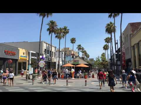 Santa Monica - 3rd Street Promenade by www.los-angeles-with-me.com ✔