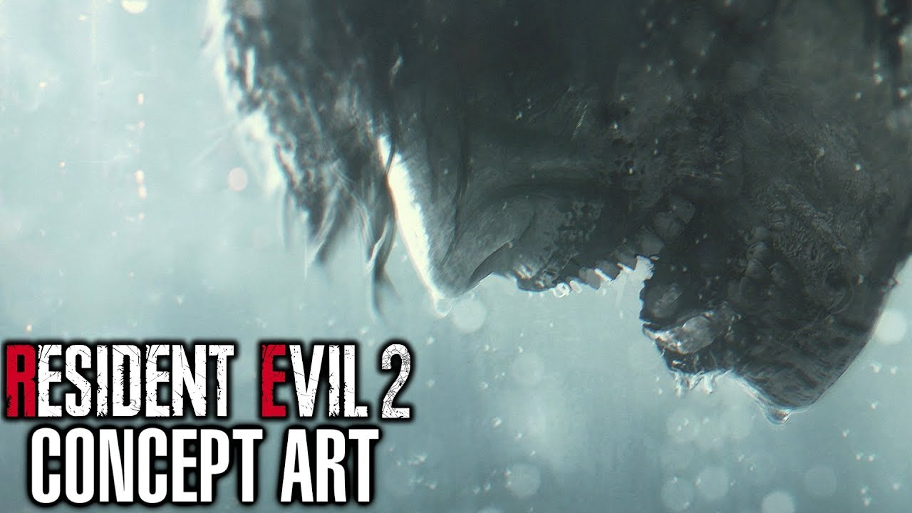 Resident Evil 2 All Concept Art Showcase Youtube