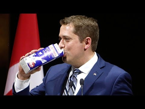 'It's a resting pleasant face': Scheer gives speech at Press Gallery dinner