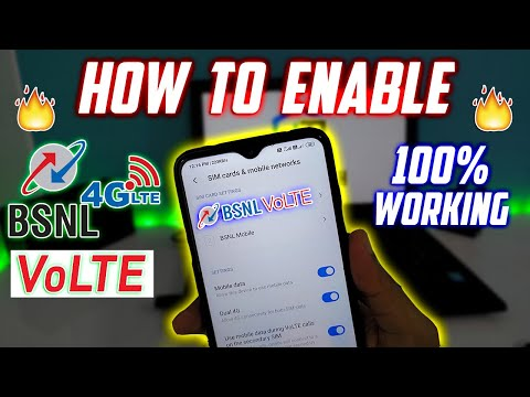 How to Enable BSNL 4G VoLTE Service in Hindi | Volte Not Working