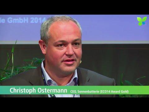 ECO14 London: Christoph Ostermann Sonnenbatterie