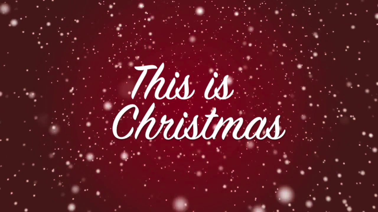 This Is Christmas.Kutless This Is Christmas Cover By Holy Star Lyric Video