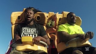 The New Day and Lana ride the Hollywood...
