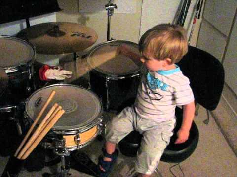 Gus's Drumming Practice 2