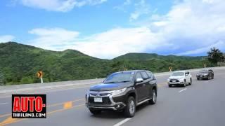 Testdrive All New Mitsubishi Pajero Sport 2015 กรุงเทพฯ-เพชรบูรณ์