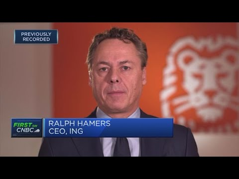 ING gaining market share with digital approach to banking, CEO says | Squawk Box Europe
