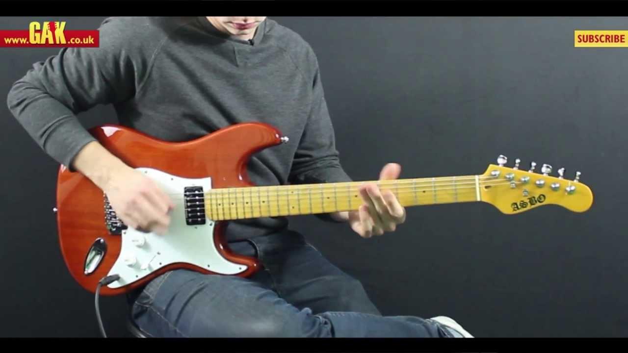 Seymour Duncan - Hot Rodded Humbucker Set Demo at GAK - YouTube