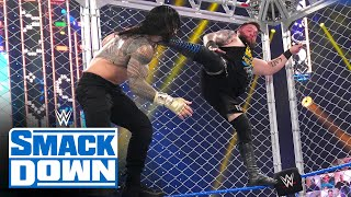 Roman Reigns vs. Kevin Owens - Universal Title Steel Cage Match: SmackDown, Dec. 25, 2020
