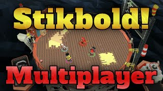 Stikbold (A Dodgeball Adventure) Gameplay (PS4) Local Multiplayer Fun (4 Player) | HD 1080p