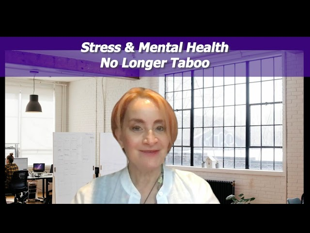 EPISODE 705: Stress and Mental Health = No Longer Taboo