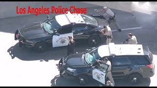 los angeles police chase