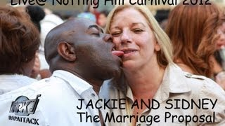 THE MARRIAGE PROPOSAL - Live at Rapattack Sound System - CARNIVAL 2012