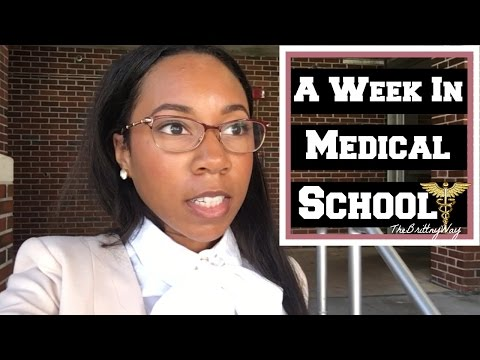 A Typical Week as a First Year Medical Student | Med School Vlog