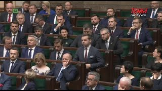 Pierwsze posiedzenie Sejmu RP IX kadencji