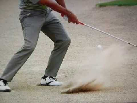 Pablo Larrazábal - Great High Spin Bunker Shot (2014)