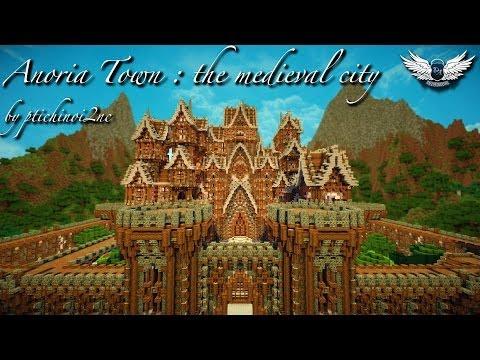 Cinematic download of town minecraft medieval map verona kingdom