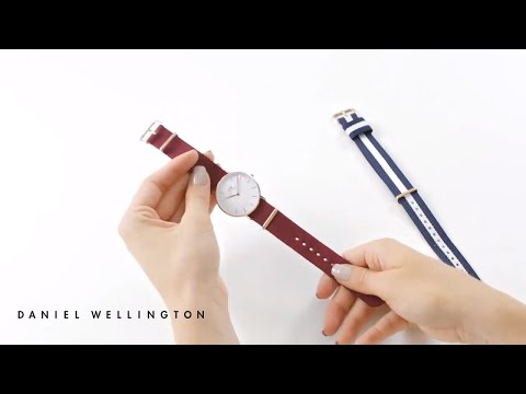 How to change your strap from Nato to Nato - Daniel Wellington