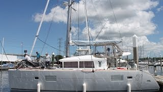 Rigging a Lagoon 400S2 Kemah TX