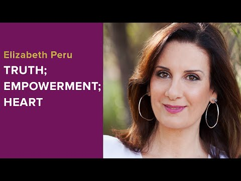 Truth; Empowerment; Heart - Elizabeth Peru of DELTAWAVES - W