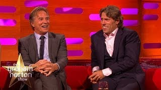 Don Johnson Revisits Miami Vice - The Graham Norton Show