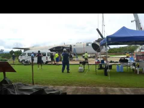 Queensland Air Museum Lockheed Neptune A89-277 Disassembly Timelapse 2016