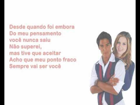 RebeldeS - Ponto Fraco (Karaokê)