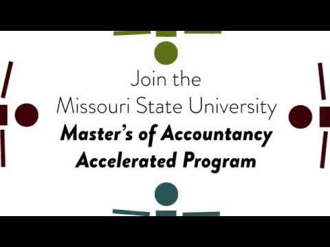 Missouri State University Master's of Accountancy Program