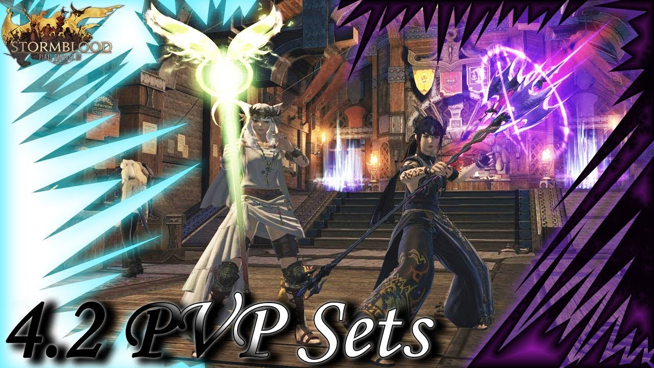 FFXIV: 4 2: New PvP Gear Sets!