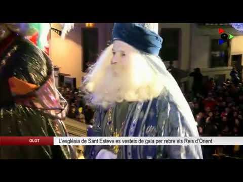 L'església de Sant Esteve es vesteix de gala per rebre els Reis d'Orient