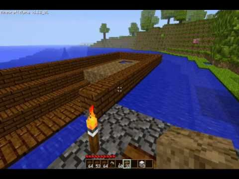 Minecraft How To Build A Pirate Ship #1