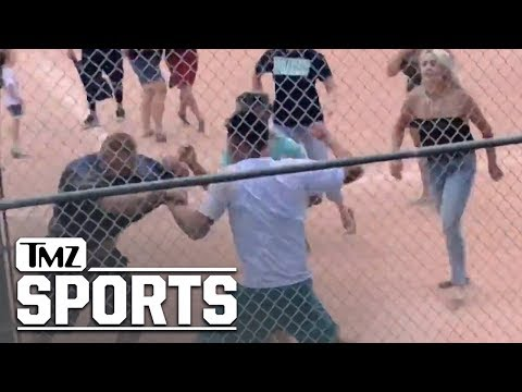 Adam Gubernath - Full Video of Youth Baseball Brawl Shows Kids Running, Adults with Bats