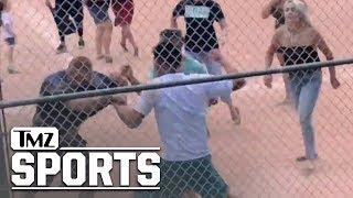 Full Video of Youth Baseball Brawl Shows Kids Running, Adults with Bats | TMZ Sports thumbnail
