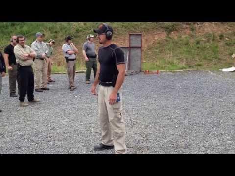 Bob Vogel runs the El Presidente drill