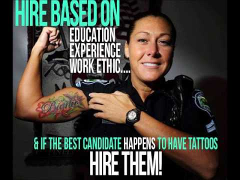 tattoo discrimination Tattoos in the workplace:  of getting away with a tattoo in the workplace if it  an employer because of a tattoo] is claiming its discrimination of race.