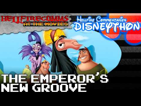 The HellfireComms Disneython - #21: The Emperor's New Groove [Audio commentary]