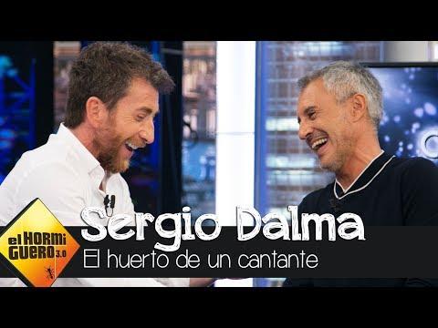 El lado más divertido de Sergio Dalma cuidando de su huerto - El Hormiguero 3.0