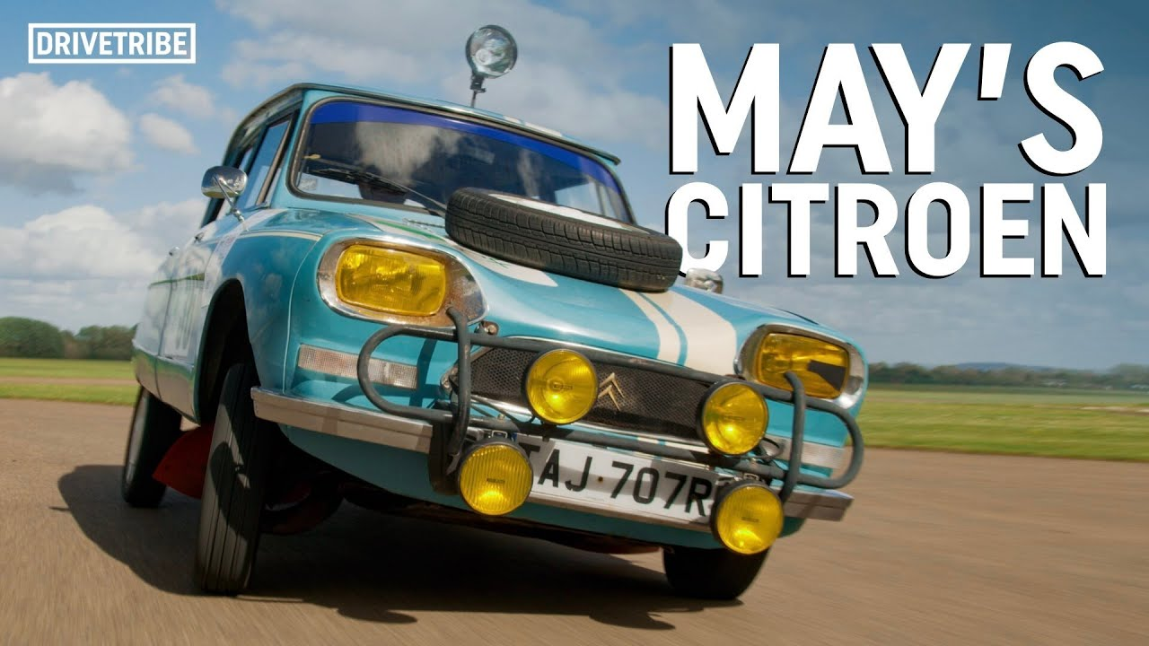 Driving James May's legendary Top Gear rally car to the limit on track! Ft. Tiff Needell